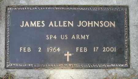 JOHNSON, JAMES ALLEN - Minnehaha County, South Dakota | JAMES ALLEN JOHNSON - South Dakota Gravestone Photos