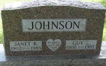 JOHNSON, JANET R. - Minnehaha County, South Dakota | JANET R. JOHNSON - South Dakota Gravestone Photos