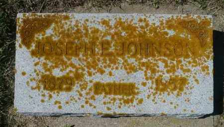 JOHNSON, JOSEPH E. - Minnehaha County, South Dakota   JOSEPH E. JOHNSON - South Dakota Gravestone Photos