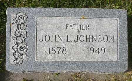 JOHNSON, JOHN L. - Minnehaha County, South Dakota | JOHN L. JOHNSON - South Dakota Gravestone Photos