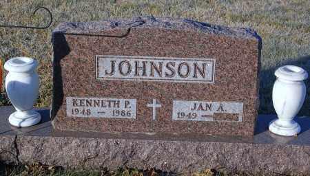 JOHNSON, JAN A. - Minnehaha County, South Dakota | JAN A. JOHNSON - South Dakota Gravestone Photos