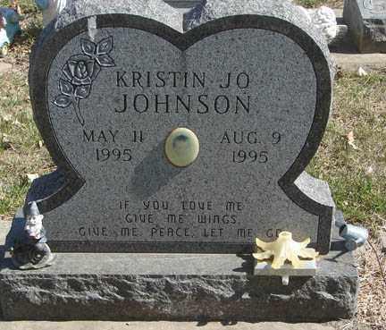 JOHNSON, KRISTIN JO - Minnehaha County, South Dakota   KRISTIN JO JOHNSON - South Dakota Gravestone Photos