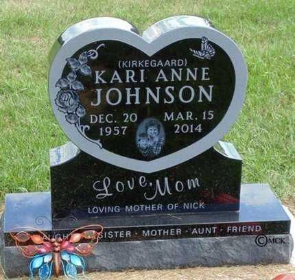 JOHNSON, KARI ANNE - Minnehaha County, South Dakota   KARI ANNE JOHNSON - South Dakota Gravestone Photos
