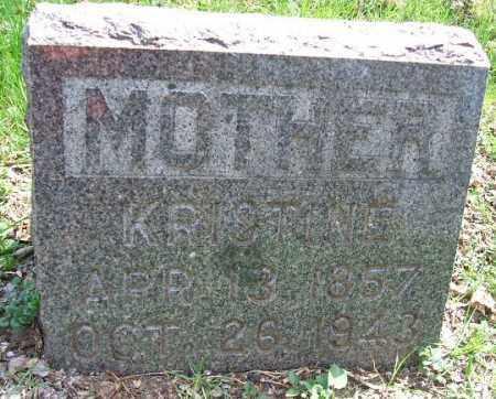 JOHNSON, KRISTINE - Minnehaha County, South Dakota | KRISTINE JOHNSON - South Dakota Gravestone Photos