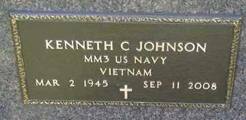JOHNSON, KENNETH C. (VIETNAM) - Minnehaha County, South Dakota | KENNETH C. (VIETNAM) JOHNSON - South Dakota Gravestone Photos