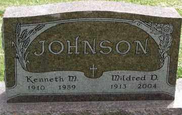 JOHNSON JOHNSON, MILDRED DOROTHY - Minnehaha County, South Dakota | MILDRED DOROTHY JOHNSON JOHNSON - South Dakota Gravestone Photos