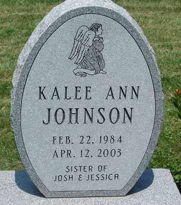 JOHNSON, KALEE ANN - Minnehaha County, South Dakota | KALEE ANN JOHNSON - South Dakota Gravestone Photos