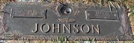 JOHNSON, LOREN F. - Minnehaha County, South Dakota | LOREN F. JOHNSON - South Dakota Gravestone Photos