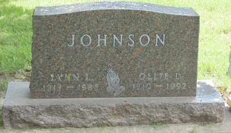 JOHNSON, LYNN - Minnehaha County, South Dakota | LYNN JOHNSON - South Dakota Gravestone Photos
