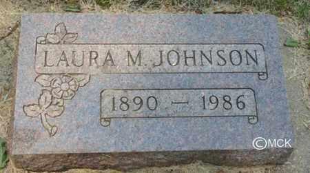 JOHNSON, LAURA M. - Minnehaha County, South Dakota | LAURA M. JOHNSON - South Dakota Gravestone Photos
