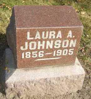 JOHNSON, LAURA A. - Minnehaha County, South Dakota | LAURA A. JOHNSON - South Dakota Gravestone Photos