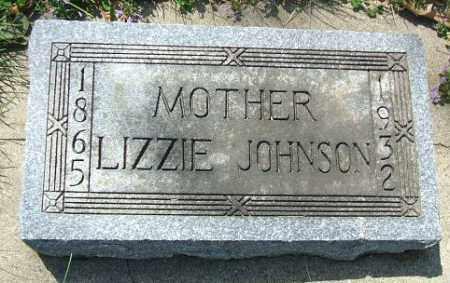 JOHNSON, LIZZIE - Minnehaha County, South Dakota | LIZZIE JOHNSON - South Dakota Gravestone Photos