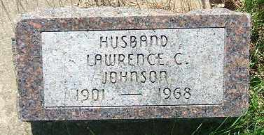 JOHNSON, LAWRENCE C. - Minnehaha County, South Dakota | LAWRENCE C. JOHNSON - South Dakota Gravestone Photos