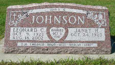 JOHNSON, JANET H. - Minnehaha County, South Dakota | JANET H. JOHNSON - South Dakota Gravestone Photos