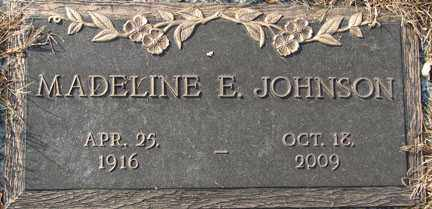 JOHNSON, MADELINE E. - Minnehaha County, South Dakota | MADELINE E. JOHNSON - South Dakota Gravestone Photos
