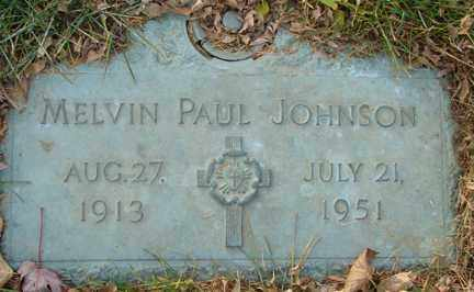 JOHNSON, MELVIN PAUL - Minnehaha County, South Dakota | MELVIN PAUL JOHNSON - South Dakota Gravestone Photos