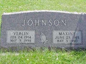 JOHNSON, MAXINE - Minnehaha County, South Dakota | MAXINE JOHNSON - South Dakota Gravestone Photos