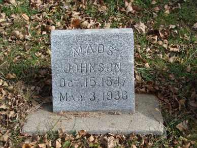 JOHNSON, MADS - Minnehaha County, South Dakota | MADS JOHNSON - South Dakota Gravestone Photos
