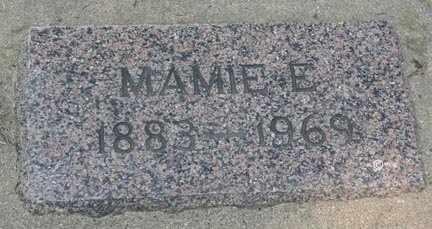 JOHNSON, MAMIE E. - Minnehaha County, South Dakota | MAMIE E. JOHNSON - South Dakota Gravestone Photos