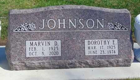 JOHNSON, DOROTHY E. - Minnehaha County, South Dakota | DOROTHY E. JOHNSON - South Dakota Gravestone Photos