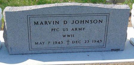 JOHNSON, MARVIN DUANE (MILITARY) - Minnehaha County, South Dakota   MARVIN DUANE (MILITARY) JOHNSON - South Dakota Gravestone Photos
