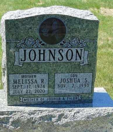 JOHNSON, MELISSA R. - Minnehaha County, South Dakota   MELISSA R. JOHNSON - South Dakota Gravestone Photos