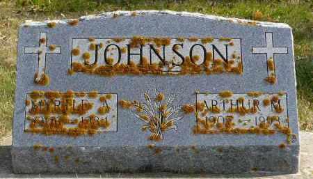 JOHNSON, ARTHUR M. - Minnehaha County, South Dakota | ARTHUR M. JOHNSON - South Dakota Gravestone Photos