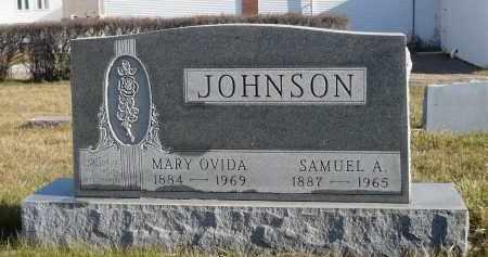 JOHNSON, SAMUEL A. - Minnehaha County, South Dakota | SAMUEL A. JOHNSON - South Dakota Gravestone Photos