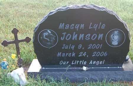 JOHNSON, MASYN LYLE - Minnehaha County, South Dakota   MASYN LYLE JOHNSON - South Dakota Gravestone Photos
