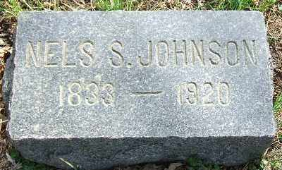 JOHNSON, NELS S. - Minnehaha County, South Dakota | NELS S. JOHNSON - South Dakota Gravestone Photos
