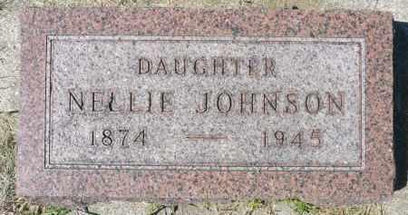 JOHNSON, NELLIE - Minnehaha County, South Dakota | NELLIE JOHNSON - South Dakota Gravestone Photos
