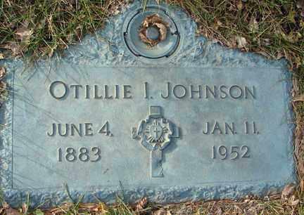 JOHNSON, OTILLIE INANDA - Minnehaha County, South Dakota   OTILLIE INANDA JOHNSON - South Dakota Gravestone Photos