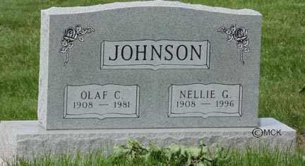 JOHNSON, OLAF G. - Minnehaha County, South Dakota | OLAF G. JOHNSON - South Dakota Gravestone Photos