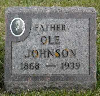 JOHNSON, OLE - Minnehaha County, South Dakota | OLE JOHNSON - South Dakota Gravestone Photos