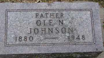 JOHNSON, OLE  N. - Minnehaha County, South Dakota | OLE  N. JOHNSON - South Dakota Gravestone Photos