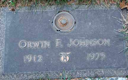 JOHNSON, ORWIN F. - Minnehaha County, South Dakota | ORWIN F. JOHNSON - South Dakota Gravestone Photos