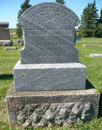 JOHNSON, PRUDY AMELIA - Minnehaha County, South Dakota | PRUDY AMELIA JOHNSON - South Dakota Gravestone Photos