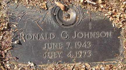 JOHNSON, RONALD G. - Minnehaha County, South Dakota | RONALD G. JOHNSON - South Dakota Gravestone Photos