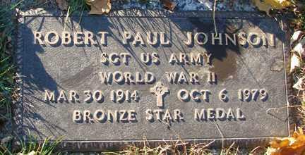 JOHNSON, ROBERT PAUL - Minnehaha County, South Dakota | ROBERT PAUL JOHNSON - South Dakota Gravestone Photos