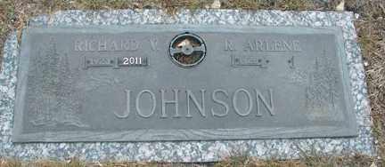 JOHNSON, RICHARD V. - Minnehaha County, South Dakota | RICHARD V. JOHNSON - South Dakota Gravestone Photos