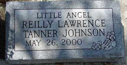 JOHNSON, REILLY LAWRENCE TANNER - Minnehaha County, South Dakota | REILLY LAWRENCE TANNER JOHNSON - South Dakota Gravestone Photos