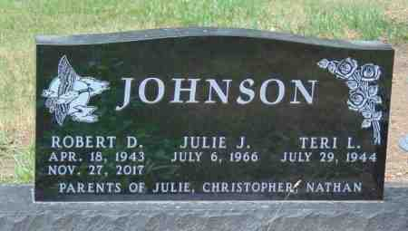 JOHNSON, TERI L. - Minnehaha County, South Dakota   TERI L. JOHNSON - South Dakota Gravestone Photos
