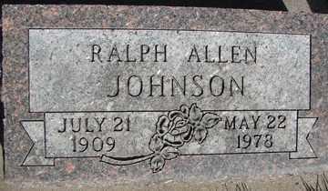 JOHNSON, RALPH ALLEN - Minnehaha County, South Dakota | RALPH ALLEN JOHNSON - South Dakota Gravestone Photos