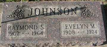 JOHNSON, RAYMOND S. - Minnehaha County, South Dakota | RAYMOND S. JOHNSON - South Dakota Gravestone Photos
