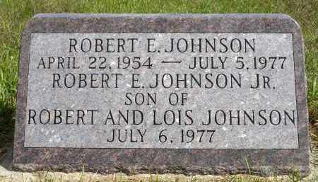 JOHNSON, ROBERT E. - Minnehaha County, South Dakota | ROBERT E. JOHNSON - South Dakota Gravestone Photos