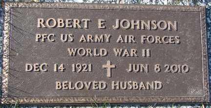 JOHNSON, ROBERT E. (WWII) - Minnehaha County, South Dakota | ROBERT E. (WWII) JOHNSON - South Dakota Gravestone Photos