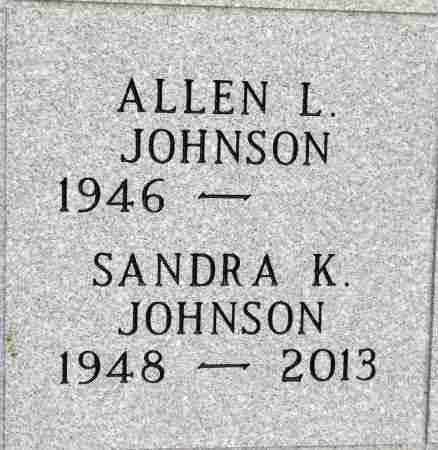 JOHNSON, SANDRA K. - Minnehaha County, South Dakota   SANDRA K. JOHNSON - South Dakota Gravestone Photos