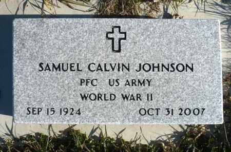 JOHNSON, SAMUEL CALVIN - Minnehaha County, South Dakota | SAMUEL CALVIN JOHNSON - South Dakota Gravestone Photos