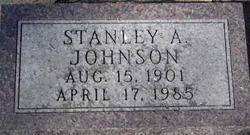 JOHNSON, STANLEY A. - Minnehaha County, South Dakota   STANLEY A. JOHNSON - South Dakota Gravestone Photos