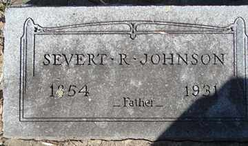 JOHNSON, SEVERT R. - Minnehaha County, South Dakota | SEVERT R. JOHNSON - South Dakota Gravestone Photos